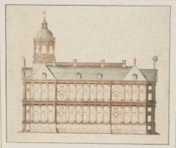 Het Stadhuis op zijde