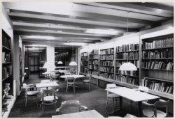 Kalverstraat 92. Amsterdams Historisch Museum: interieur bibliotheek