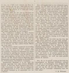 Tweede pagina van een beschrijving van de lokatie en het huis van de heer Fuld t…