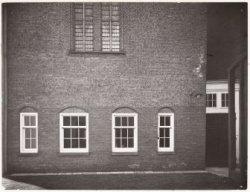 De zijgevel van de Agnietenkapel, Oudezijds Voorburgwal 231
