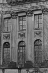 Keizersgracht 324, Felix Meritis, deel van de gevel