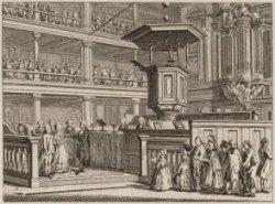 Huwelyks-Plechtigheid by de Luterschen (verso)