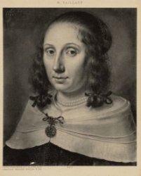 Portret van Agatha de Vlaming van Oudtshoorn (1619-1675), gehuwd in 1639 met Roe…