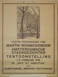 Pastelteekeningen van Martin Monnickendam