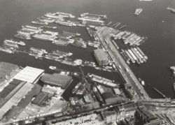 Luchtfoto Westelijk Havengebied