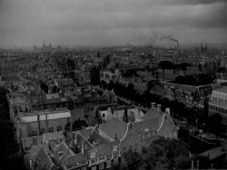 Panorama vanaf de Zuiderkerk in zuidwestelijke richting