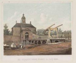 De Utrechtsche Poort, in Julij 1858