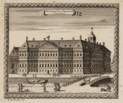 Stadhuys Van Amsterdam van Achteren