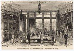 Kleedermagazijn van Fischer & Co., Nieuwendijk, 213