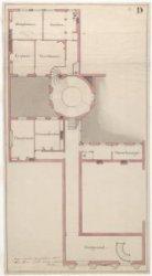 Prijsvraagontwerp voor gebouw Felix Meritis, Keizersgracht 324, blad D