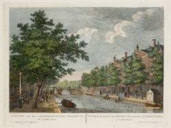Gezicht van het Aalmoesseniers-Weeshuys, tot Amsterdam