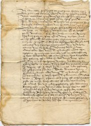 Testament van Lijsbeth Cornelis Bruntendr waarin zij aan de Huiszittende Armen v…