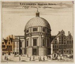 Luytersche Nieuwe Kerck. l'Eglise noveau des Lutheriens