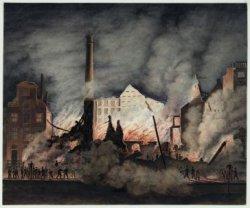 De brand van de Suikerfabriek van J. H. Rupe & Zn. aan de Keizersgracht 218-222 …