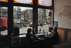 Nieuwe Leliestraat 2, café Wester