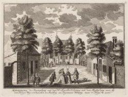 Merenburg de Buyteplaats van den Hr. Arnoldo Kloeting aan den Middel weg voor by…