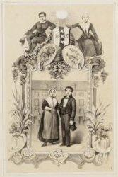 Herdenkingsprentje 200 jarig bestaan van het Diaconie Weeshuis aan de Zwanenburg…