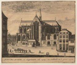 Niewe Kerk, is begonnen Ao 1414; en volboud in 't jaar 1470
