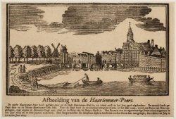 Afbeelding van de Haarlemmer-Poort