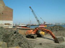 Het bouwrijp maken van grond voor de bouw van kantooreenheden aan het Barentszpl…