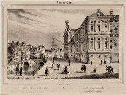 Het Paleis. (van de westzijde te zien) - Le Palais. (du Coté de l'Occident)