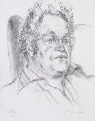 Johnny Jordaan. Werkelijke naam: J.H. Musscher (1924-1989)
