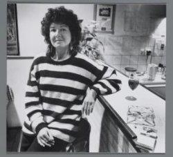 Ellen Bouwers, bewoonster van Grensstraat 2: activiteiten tegen roken