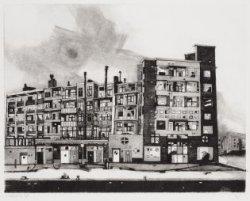 Schinkelhavenkade (achterzijde Amstelveenseweg). Voorstelling in spiegelbeeld. T…
