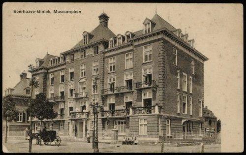 beeldbank stadsarchief amsterdam - museumplein. boerhaave kliniek