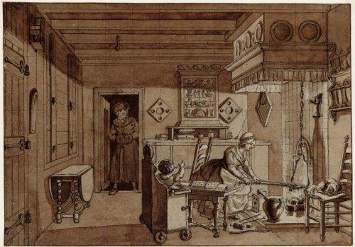 Beeldbank Stadsarchief Amsterdam - Het interieur van de woning van ...
