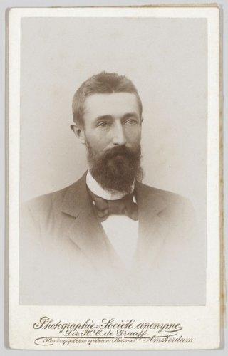 Titel Carte De Visite Met Portret Van Jan Kuiper 1862 1938