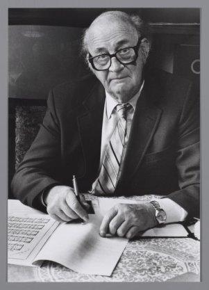 Portret van Koordirigent Peter Doggen