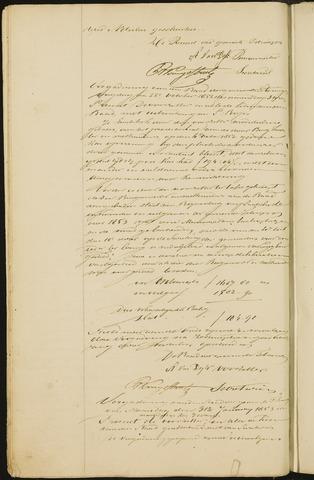 Teteringen - Notulen en bijlagen van de gemeenteraad 1853