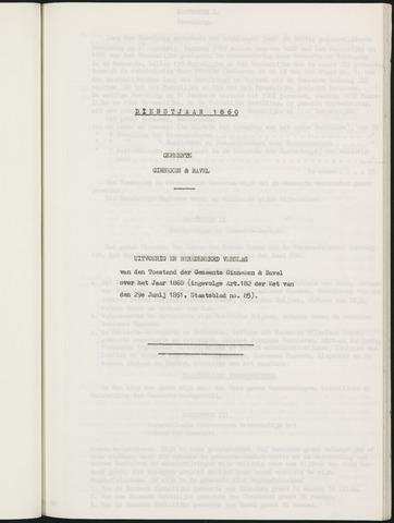 Ginneken en Bavel - Verslagen van de toestand van de gemeente 1860