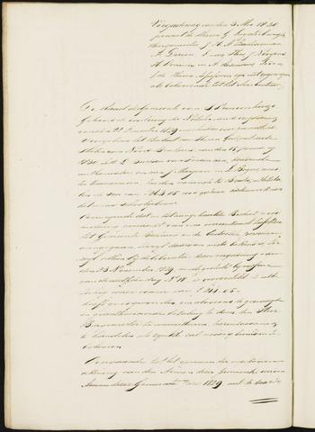 Princenhage - Notulen van de gemeenteraad 1830