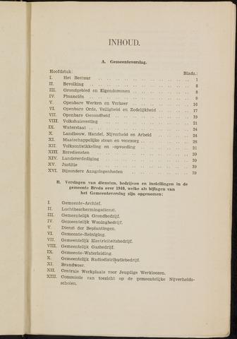 Breda - Verslagen van de toestand van de gemeente 1940-01-01