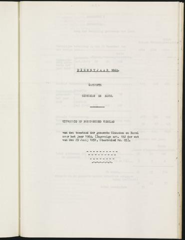 Ginneken en Bavel - Verslagen van de toestand van de gemeente 1869