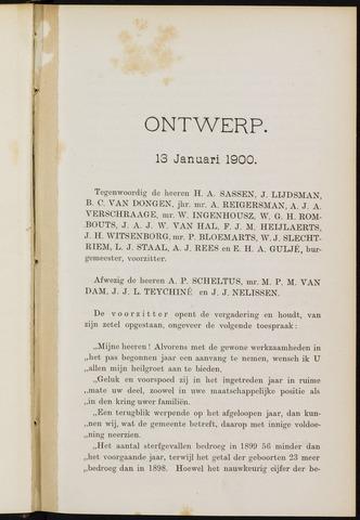 Breda - Notulen van de gemeenteraad 1900-01-01