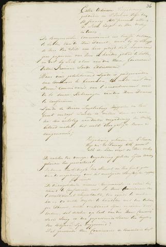 Princenhage - Notulen van de gemeenteraad 1815