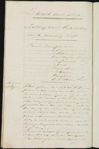 Ginneken en Bavel - Notulen van de gemeenteraad 1843-01-01