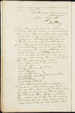 Teteringen - Notulen en bijlagen van de gemeenteraad 1836