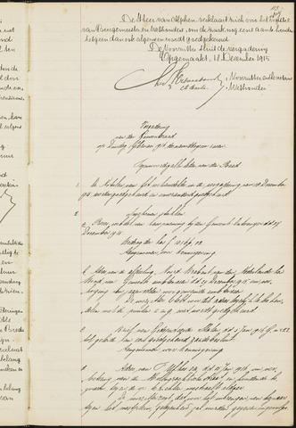 Teteringen - Notulen en bijlagen van de gemeenteraad 1916