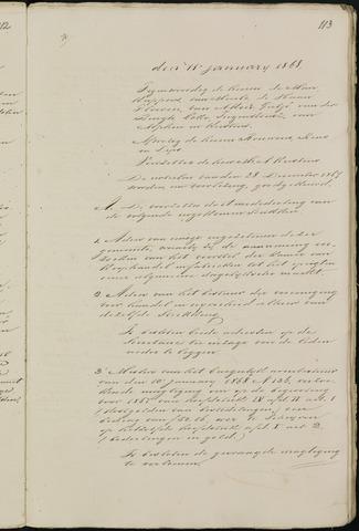 Breda - Notulen van de gemeenteraad 1868-01-01