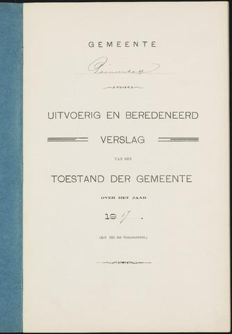 Princenhage - Verslagen van de toestand van de gemeente 1917
