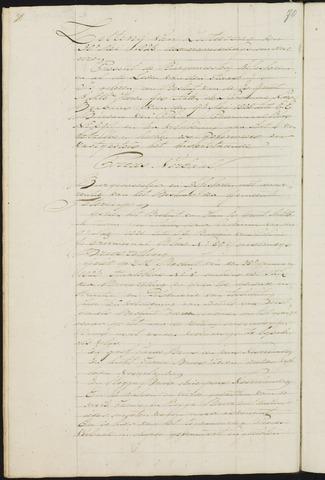 Teteringen - Notulen en bijlagen van de gemeenteraad 1828