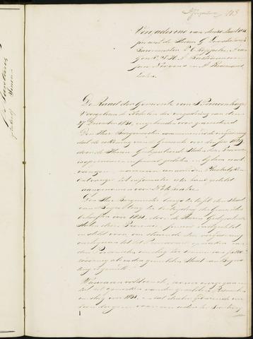 Princenhage - Notulen van de gemeenteraad 1831