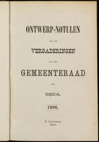 Breda - Notulen van de gemeenteraad 1896-01-01