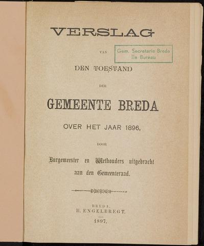 Breda - Verslagen van de toestand van de gemeente 1896