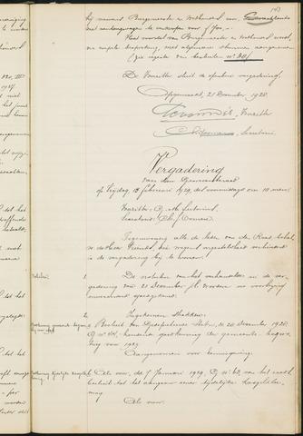 Teteringen - Notulen en bijlagen van de gemeenteraad 1929