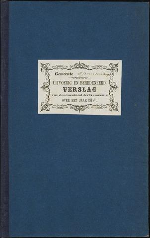 Princenhage - Verslagen van de toestand van de gemeente 1868-01-01